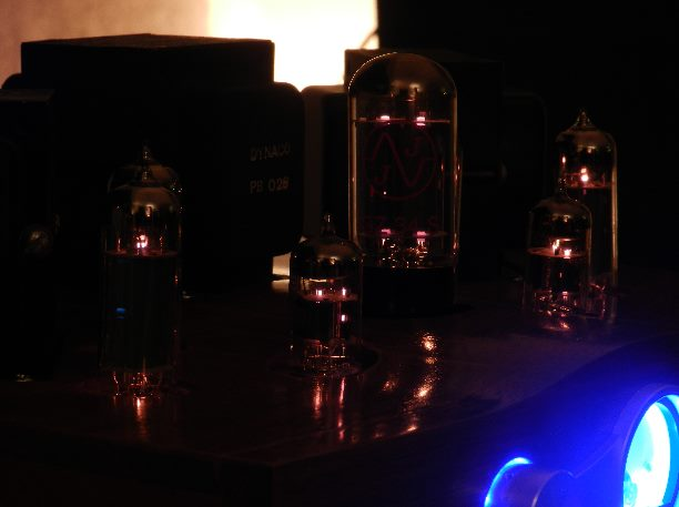 JW Design tube amplifier