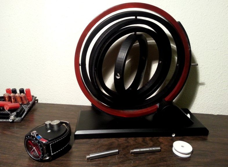 JW Design gyro watch winder